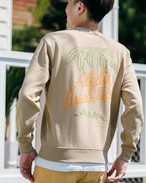 ALOHA BEACH TREE Sweat (beige)