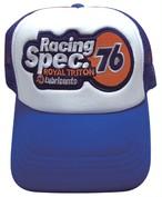RacingSpec76のワッペンがついたメッシュキャップ