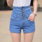 【新作10%off】high waist short denim 2631
