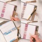 【ミニ6サイズ4種セット】システム手帳リフィル