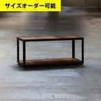 IRON FRAME COMPACT LOW SHELF[TEAK COLOR]サイズオーダー可