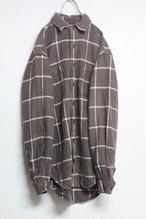 90's 初期RRLチェックシャツ