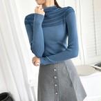 【tops】伸縮性いい合わせやすい長袖セーター25754886