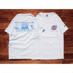 "【DARGO】""Trade Mark"" T-shirt (OCEAN BLUE)"