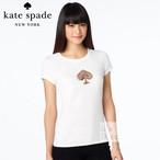 Kate Spade ケイトスペード ロゴTシャツ Bright This Way T-shirt xsサイズ