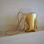 【saranam】sumaho case(gold)/ 【サラナン】スマホケース(ゴールド)