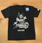 hs-42 ACTIVE 『BIGINNING OF REVENGE』 T-SHIRT ・ブラック