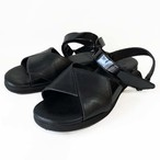 goat leather sandals/BLK,BRN/LIBERTAS【即納】