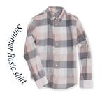 Summer Basic shirt [check]