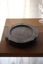 woodplate Lサイズ ブラック(箱入り)