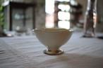 古谷浩一(古谷製陶所)|粉引花びら高台小鉢