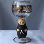 【特別価格】ドイツ Goebel ゲーベル Bockling ボックリング ワイングラス 修道士