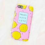《即納》iPhoneケース ピンクレモン iPhone7
