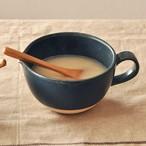 【SL-0076】陶器 片口カップ ネイビー