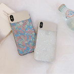 【オーダー商品】Aurora mirror iphone case