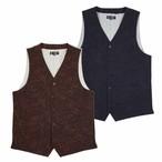 JQ Paisley Vest | ペイズリー ジャガード デニム ベスト (OR GLORY オアグローリー)