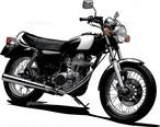 バイク座シートインサイドレギュラー