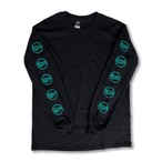 CROWN L/s Black/Emerald