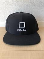 Solid Logo 立体刺繍 Cap