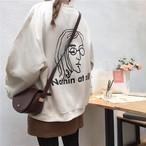 バックロゴビッグセーター179