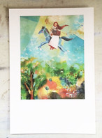 ポストカード「翔ける春」