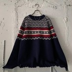 """ TOMMY HILFIGER "" vintage nordic sweater"