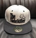 """BARBERS """" The Fadekiller"""" CAP ブラック / ヘザーグレー×ブラック"""