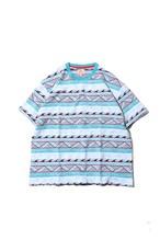 Original Jacquard Tshirt / sax