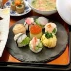 8種の手毬寿司