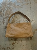 "LABOR DAY ""Newspaper Bag"" Dark Beige Color"