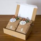門崎 めだか米と門崎 ホタル米(各1kg  計2個)ギフトボックス入