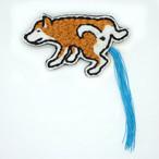 犬ションブローチ(柴)
