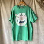 retro green used tee /レトログリーンの水兵さん古着Tシャツ