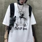 【tops】ファッションプリントラウンドネックTシャツ22580168