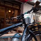 コーヒーカップを自転車に 取り付けられるカップホルダー