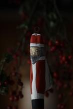 ゝシルス 流木サンタクロース オーナメント④レッド