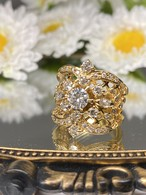(日本のスペシャル豪華絢爛なヴィンテージリング)Japanese ⭐︎super gorgeous⭐︎ vintage ring
