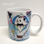 ◆予約◆3歳バースデー柄マグカップ◆