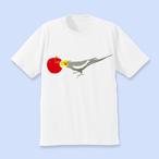 ことりちゃんTシャツ(オカメインコ ノーマル男の子)