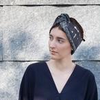 残り1点!Silk&Wool 'Peckham' リバーシブルヘッドスカーフ/ミニスカーフ