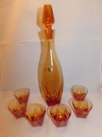 HOYAデカンタ&グラス(6客)セット HOYA Decanter six glasses(made in Japan)