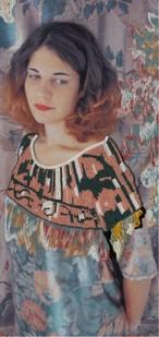 オレリーマティゴ ロングスカーフ Femme カラーバージョン