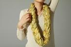 ネックレス -三つ編み YELLOW-