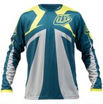 Troyleedesigehns Sprint Jersey Reflex / DIRTY BLUE / LG & Sprint Short Reflex / DIRTY BLUE / 32 SET (SALE)