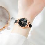 Kimio AF-6300(Black) レディース腕時計