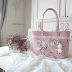 『pink & Rose』 革*トートbag  [bg-839]