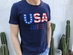 USA Tシャツ(navy)