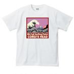 No.004 富士をバックに波乗りいたしますTシャツ