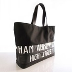 Tote Bag (L) / Black  TLB-0012