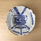 【有田焼】石焼染付竜 16㎝鉢